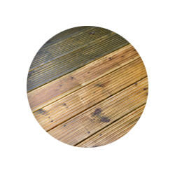 wood surface cleaning image